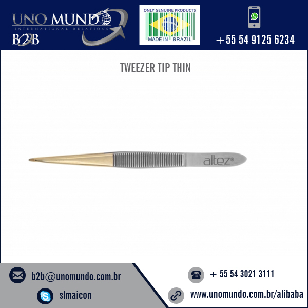 High Quality Pointed Eyebrow Tweezers Precision Tweezer - Gold Point Price