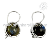 Indian Jewelry 925 Sterling Silver Jewellery New Simple Design Earring 2016