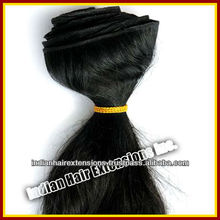 No tangle no shedding no mix 100% Indian human hair weaving: New Arrived Grade AAAAA Remy Virgin human hair extension