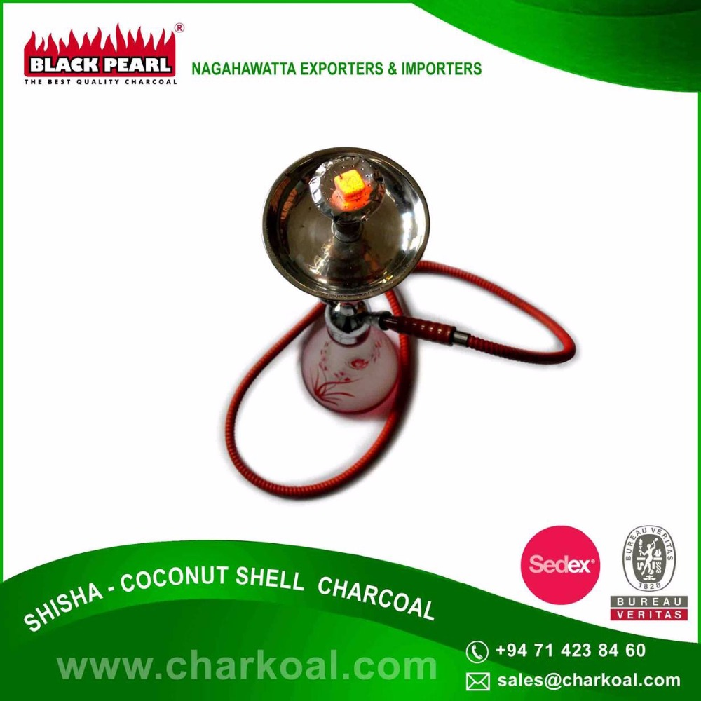100% Naturally Recycle Shisha Charcoal for Heat Faster at Affordable Cost