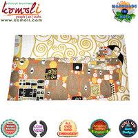 The Cuddling Hug handmade custom carpet rug with wool & yarn