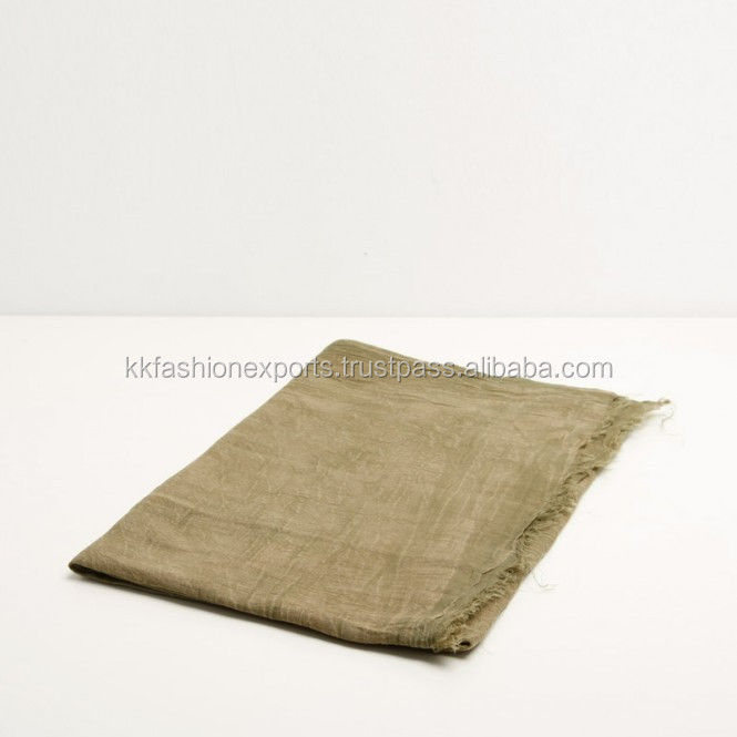 Fashion Wholesale cotton STONE WASH scarf
