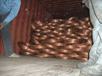 copper wire rods scraps in coils for sale