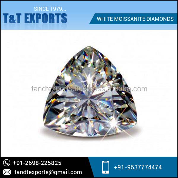 Premium Quality and Low Price White Moissanite Diamond for Sale