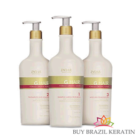 G HAIR (DEEP CLEAN - REDUCTOR - FINALIZER - 3STEPS - 1L