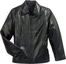 Sample women leather jacket in sheep leather