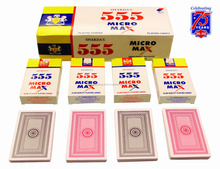 rfid playing cards /999.9 gold playing cards /555 Micro Max Club Playing Cards