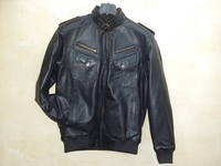 NEW GUENIUNE LEATHER MENS JACKET