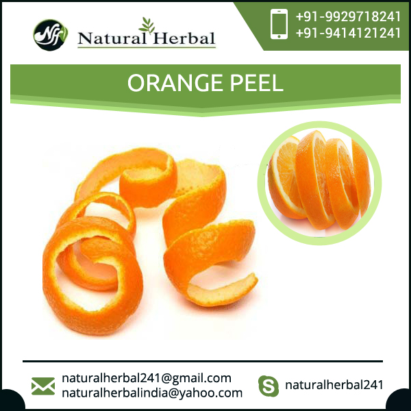 Factory Produced Dried Orange Peel at Reasonable Price