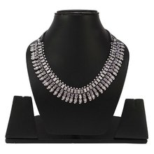 Silvertone Vintage Style Tribal Neck Piece Indian Fashion women Necklace JewelryANS5952A