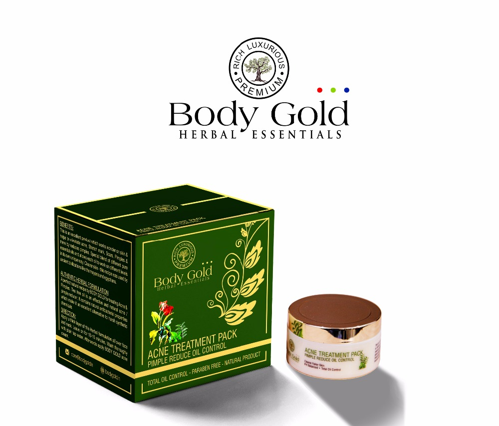 Body Gold Luxurious Herbal Acne Treatment Pack
