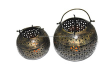 New Beautiful gift set of 2 indian home decorative gift item Lota lamp