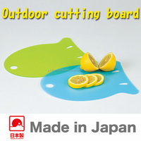 Japanese and high quality board for the kitchen knife for outdoor in cute design