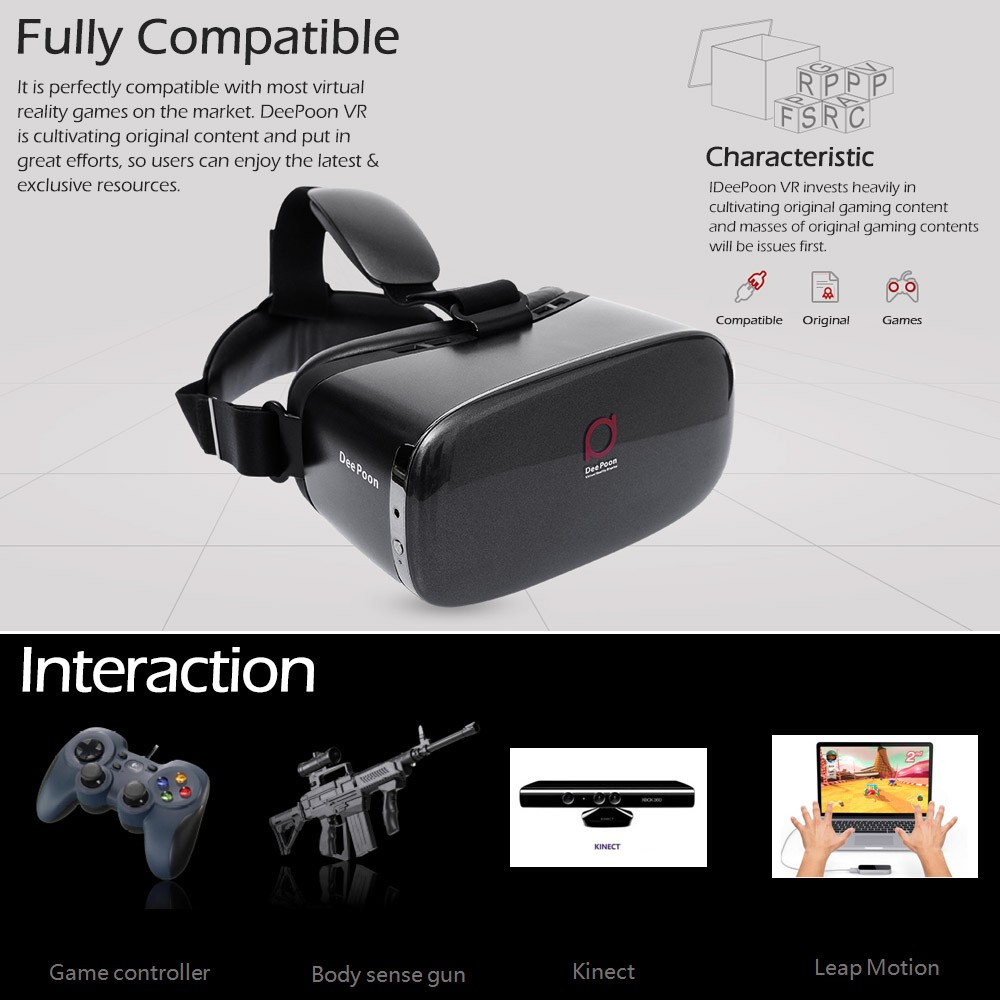 VR Glasses Google Cardboard Virtual Reality 3D Glasses VR Box Version Headset with Wireless Bluetooth 3.0 Controller