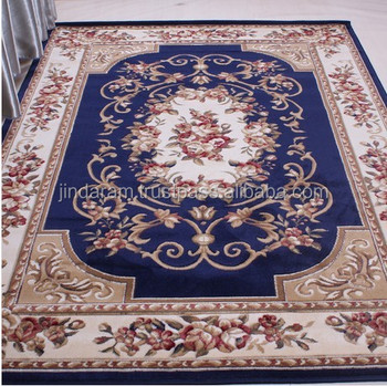 Traditional patterned loop acrylic carpets