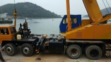 [ Winwin Used Machinery ] Used Truck crane SAMSUNG SC50H2 1996yr For sale