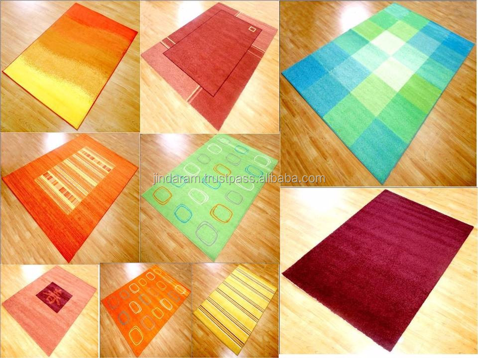 High quality acrylic kids carpets