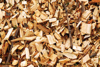 Rubber wood chips for energy/pulp