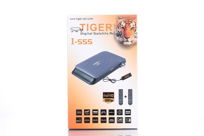 Tiger 1080p satellite receiver dvb s2 set top box