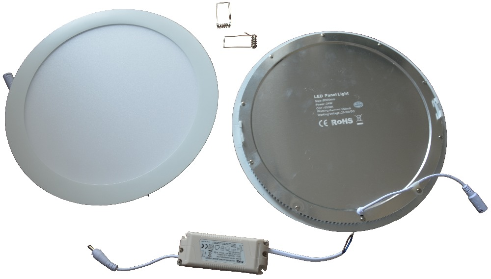 Singapore 9W,Dia145mmxH20mm,Slim Profile Flat LED Panel Fixture, Aperture Round Emergency LED Panel Fitting