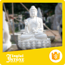 silent smiling buddha statue