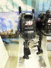 Free Shipping For Used Suzuki 20 HP 4 Stroke Outboard Motor Engine