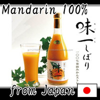 Premium soft drink 100% pure fruit juice for gift made in Japan