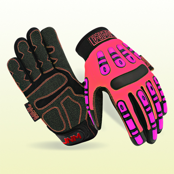 Mechanic Gloves with Silicon Printing