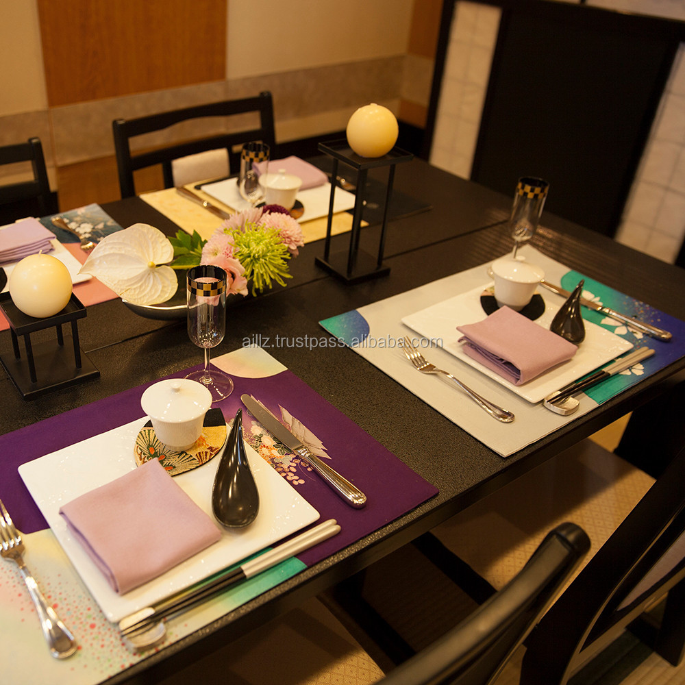 Handmade table mats design - Handmade Pure Silk Table Mats Design Paper Napkin Available Buy Table Mats Design Product On Alibaba Com