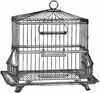 Metal Wire Large Bird Cage, Decorative Bird Cage, Garden And Home Decor Metal Bird Cage