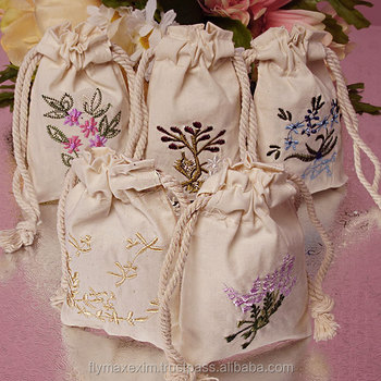 wholesale cotton muslin bags/ plain cotton drawstring muslin bags