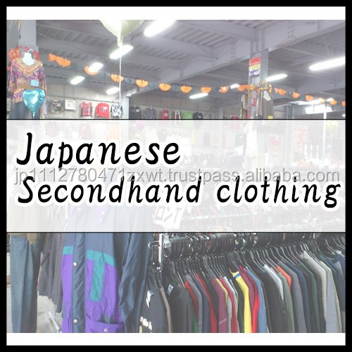 All Types and Clean Used Clothes in kg collected in Japan
