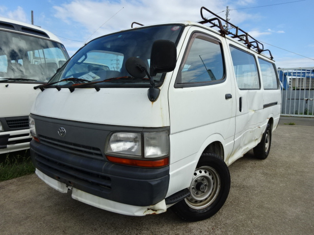 Durable and Good condition toyota hiace van used car at reasonable prices