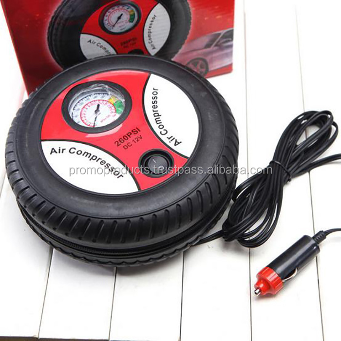 Mini Portable Car Air Compressor 12v Auto Inflatable Pumps Electric Tire Inflaters 260psi to Car, Bicycle, Ball Tires