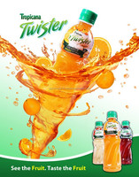Twister Orange Juice 455ml pet bottle /soft drink / beverage / Fruit & Vegetable Juice