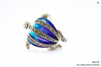 Fashion jewelry set 925 Sterling silver with Enamel Swiss marcasite stone