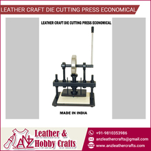 Flexible Leather Craft Die Cutting Press Tool Economical from Reliable Supplier