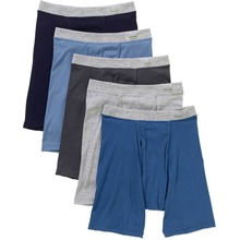 men thick cotton underwear with strip design OEM service