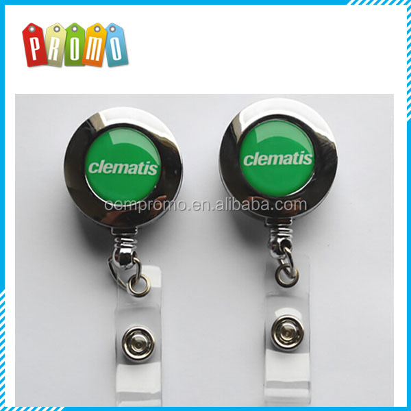 High Quality Metal Retractable Badge Reel