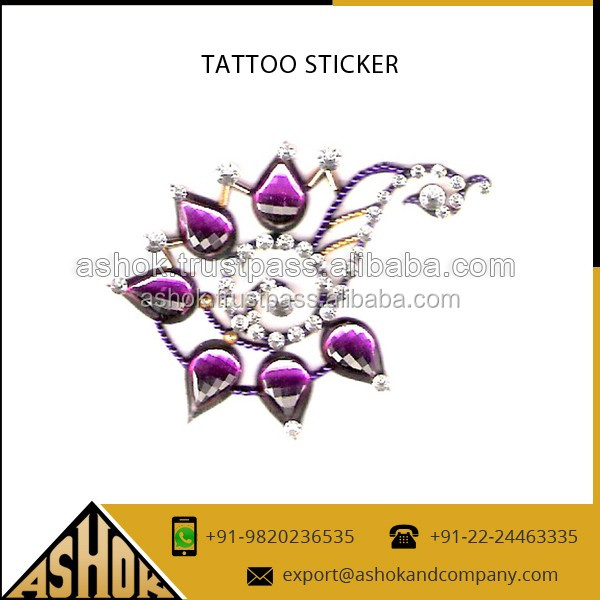 Wholesaler Of Peacock Style Tattoos sticker-Custom Hand Made tattoos-Back Tattoo