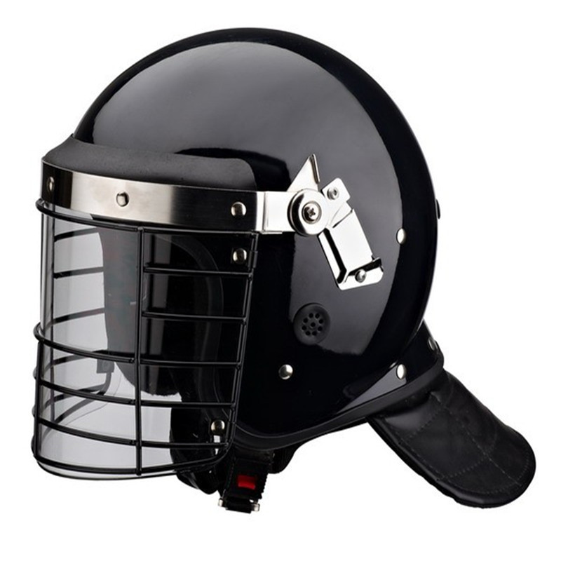High Quality American Anti Riot Police Helmet PC/ABS Safety Protective Helmet With Visor