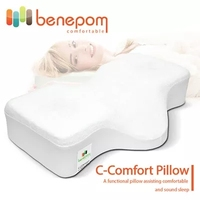 Benepom C-COMFORT PILLOW/Cushion/Neck and comfortable/Antibacterial polyurethane 100%