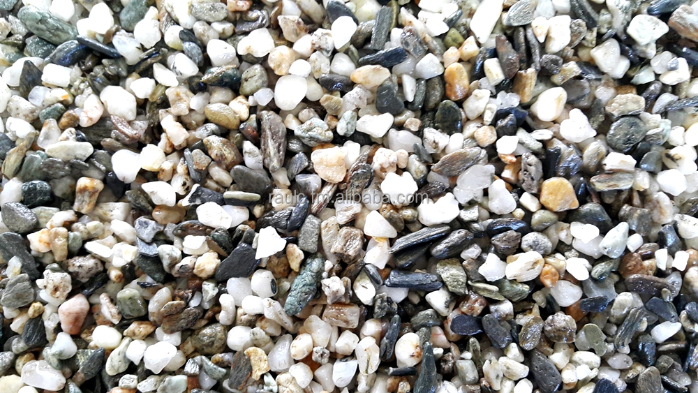 NATURAL MIX COLOR PREMIUM GRAVEL PEBBLE STONE (Seki)