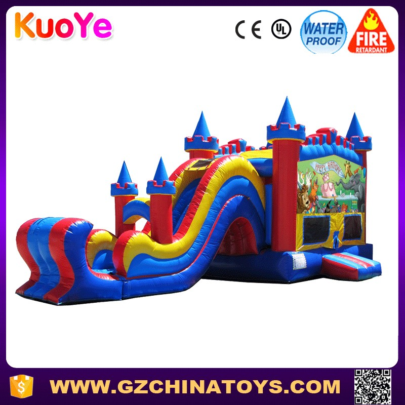 outdoor playground inflatable bouncer slide inflatable combo bouncers