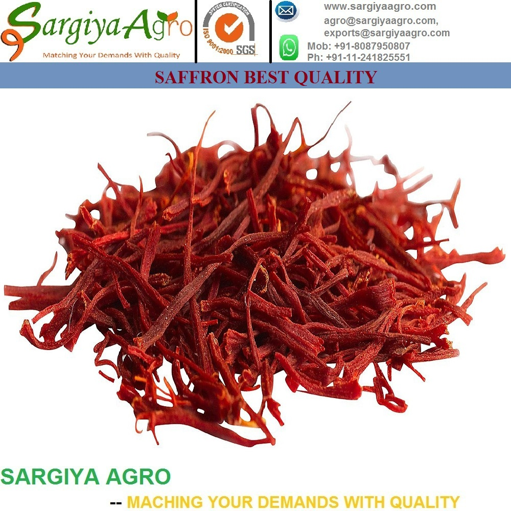 Natural Pure Saffron l Crocus Sativus l