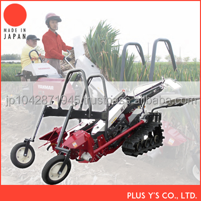 Long onion 2 row combine harvester for sale Made in Japan