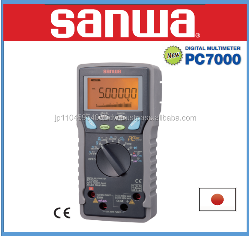 Durable and High quality optical Power Meters Sanwa multimeter with multiple fuctions