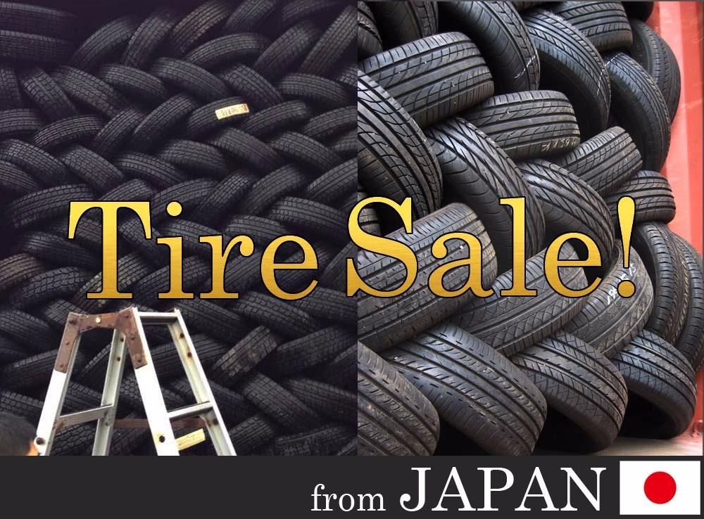 Huge stock of Bridgestone Yokohama Toyo Michelin Pirelli Dunlop used tire, used tyre from Japan