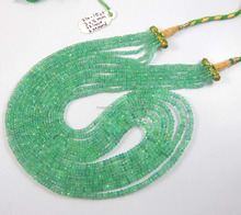 Natural Emerald gemstone necklace wholesale price