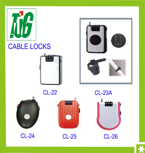 Retractable Cable lock